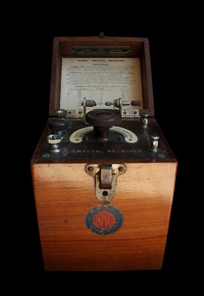 BBC Wireless Crystal Receiver by Jim Strom