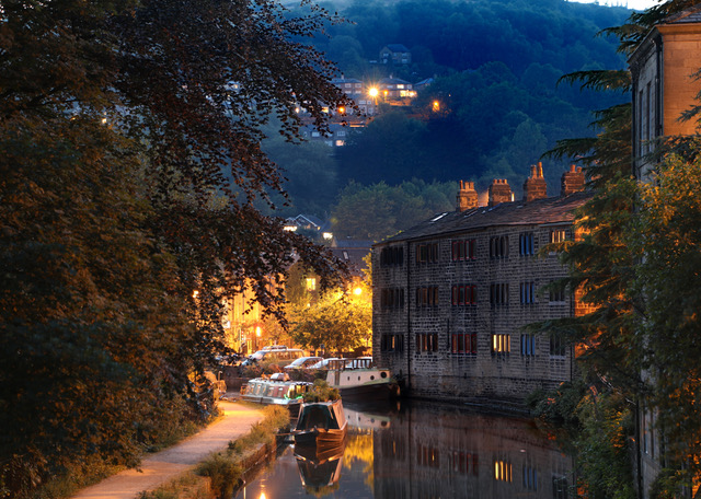 Nightfall on the Canal by Martin Whittell
