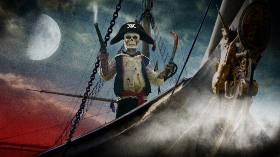 A Piratical Halloween by Chris Johnson Standley