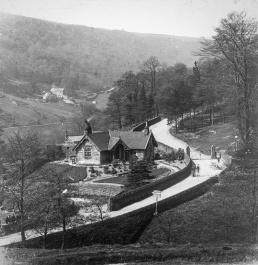 Cottage on Midgehole Road.